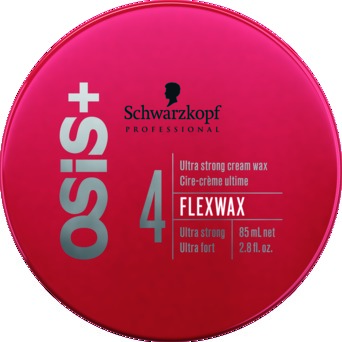 Schwarzkopf  OSiS+ Ultra Strong Cream Wax, Flex Wax 4, 85ml