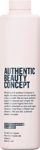 AUTHENTIC BEAUTY CONCEPT Deep Cleansing Shampoo 300ml