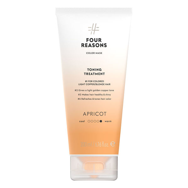 Four Reasons Color Mask Toning Treatment Apricot 200ml