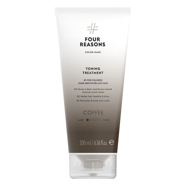 Four Reasons Color Mask Toning Treatment Coffee 200ml