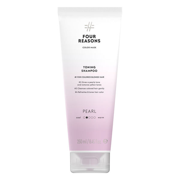Four Reasons Color Mask Toning Shampoo Pearl 250ml