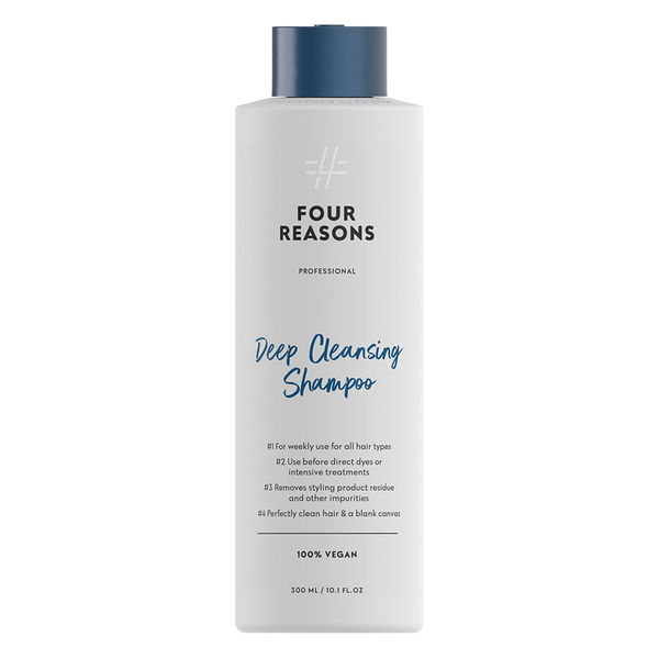 Four Reasons Deep Cleansing Shampoo