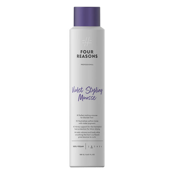 Four Reasons Violet Styling Mousse