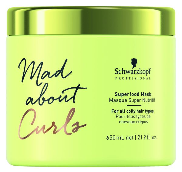 Schwarzkopf Mad About Curls, Superfood Mask 650ml