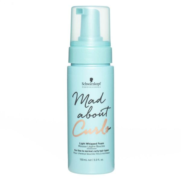 Schwarzkopf  Mad About Curls, Light Whipped Foam 150ml
